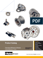Parker Cleavland wheels Illustrated parts catalog