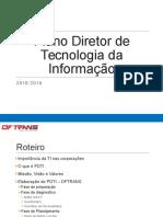 Plano Diretor de Tecnologia Da Informação