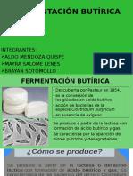 FERMENTACIÓN BUTÍRICA