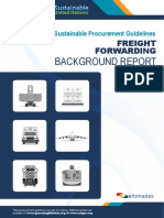 XUNSP Background Report Freight Forwarding