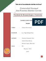 Informe 1 - Clinica Nutricional