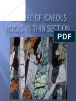 Texture of Igneous Rocks(1)