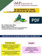 Analisis Estadistico Evaluación de Instrumentos