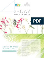 Be Well Clean Eating 3 Day Summer Reset