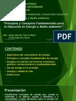 Energia y Medio ambiente Introducción 2016