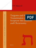 SAIS 010 Hayward - Targums and the Transmission of Scripture into Judaism and Christianity - 2010.pdf