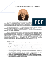 Conociendo a D. Francisco Giner de Los Ríos