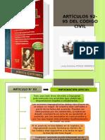 Articulos 92-95 Del Codigo Civil