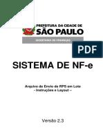 Nfse Layout Sao Paulo