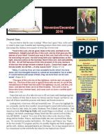 November:December Report