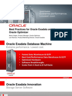 Best Practices for Exadata and Optimizer