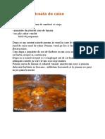 Dulceata de Caise