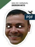 Máscara Anderson Mito - MimAcher
