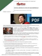 Fábio Medina Osório - Há Indícios Suficientes de Crimes de Responsabilidade Por Dilma
