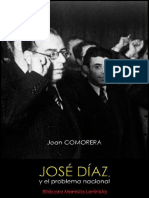 Joan Comorera; José Díaz, y el problema nacional, 1942
