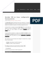 Servidor NIS en Linux - Configuracion y Funcinamiento