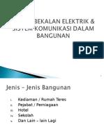 Keperluan Elektrik Dalam Bangunan