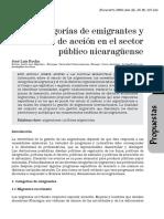 Categorías de Emigrantes 2008
