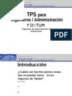 TPS Eng Spanish
