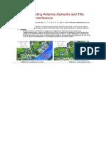 LTE Optimisation-Antenna Adjustment