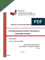 Presiunea Fiscala Maria Dandu