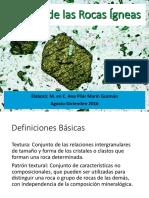 Textura de Las Rocas Ígneas-otros