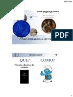 Como Preparar la Leccion Escuela Dominical
