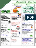 Leduc East Wing Calendar