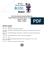 2017 landlord workshop agenda