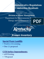 Coal Combustion Residuals 2015-9-3 Vetting Meeting