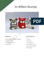 Pattern Kitten Krump