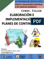 Planes de Contingencia 18-19-Ene UANL