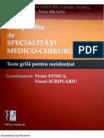 Teste Grila Pentru Rezidentiat 2016 - Grile Editura Medicala Dupa Compendiu
