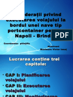 Prezentare Napoli - Brindisi