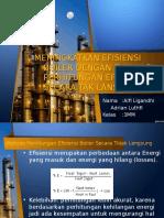 Presentasi efisiensi boiler