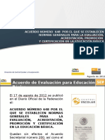 Acuerdo Secretarial 648-Capacitación Preescolar