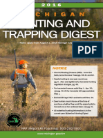 2016 Michigan Hunting and Trapping Digest - State of Michigan