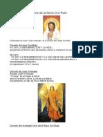 Decretos y Oraciones de La Llama Oro-Rubí