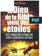 Mauro Biglino-Le Dieu de La Bible Vient Des Étoiles _ de La Traduction Littérale Des Codex Hébraïques Initiaux-NOUVELLE TERRE (2014)