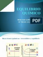 EQUILIBRIO QUÍMICO 2016 ALUMNAS (OS).pptx
