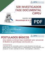 Ser Investigador Fase Documental Caracas