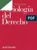 SORIANO, Ramón. (1997). Sociología Del Derecho. España. Editorial Ariel