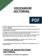 Procesador Vectorial