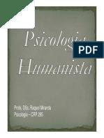 Psicologia Humanist A