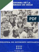 Manuel Antonio Garretón y Javier Martínez - La Reforma en la Universidad de Chile