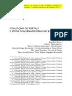 Avaliação de Portais e Sítios Governamentais No Brasil (2010)