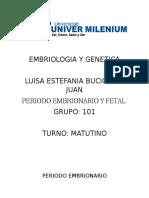 Embriologia y Genetica