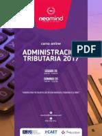 Brochure Administración tributaria 2017 - Neomind