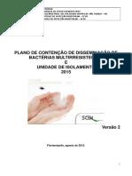 Plano de Contenção de Disseminação de Bactérias Multiresistentes e Unidade DeIsolamento