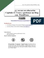 4. Crear y Gestionar Un Blog Con Wordpress